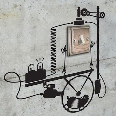 rat-on-treadmill-creating-electricity-wall-art-on-switch