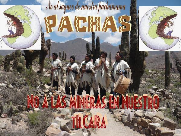 PACHAS le dice NO!!! al saque de nuestra Pachamama