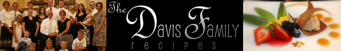 Davis Family Recipes