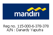 Transfer ke B MANDIRI