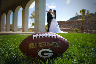 Green Bay Bridals - Wedding Photography {Green Bay Packer Fans}
