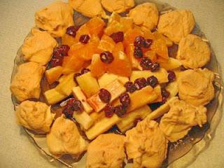 Десерт Фруктовый сюрприз
