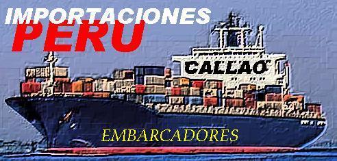 IMPORTACIONES CALLAO: EMBARCADORES