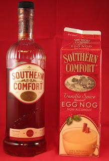 Southern Comfort Eggnog Drink