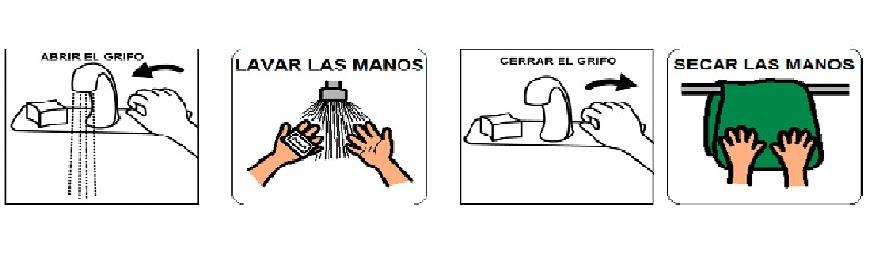 Pasos para el lavado de manos para colorear - Imagui