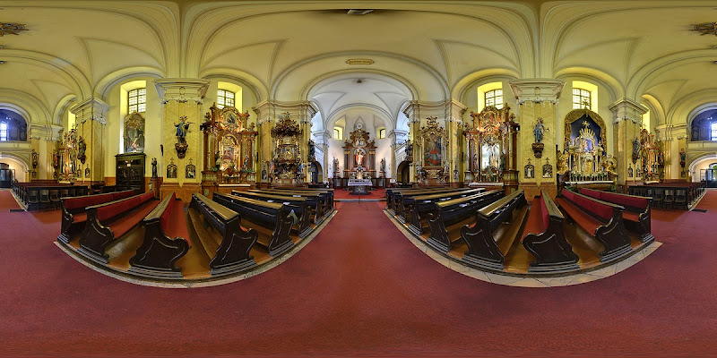 Óbuda Szent Péter és Pál templom gömbpanoráma
