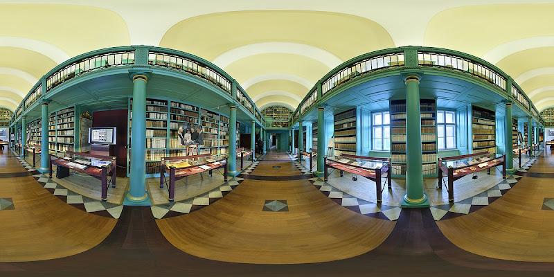 Debreceni Református Kollégium Könyvtára gömbpanoráma