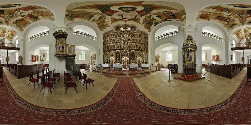 Hajdúdorogi Görög Katolikus Székesegyház gömbpanoráma