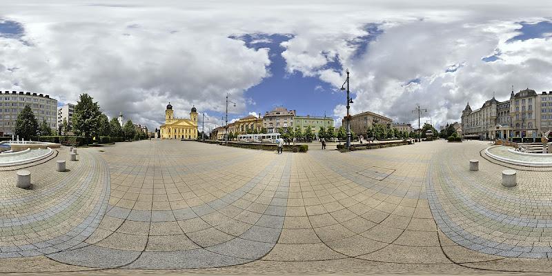 Debrecen Kossuth tér gömbpanoráma
