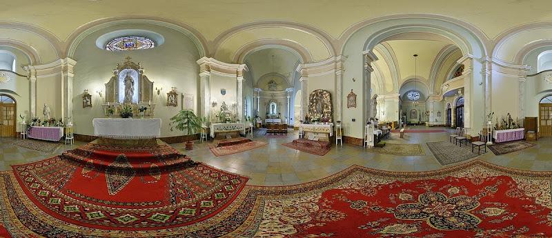 Dunakeszi Szent Mihály templom gömbpanoráma