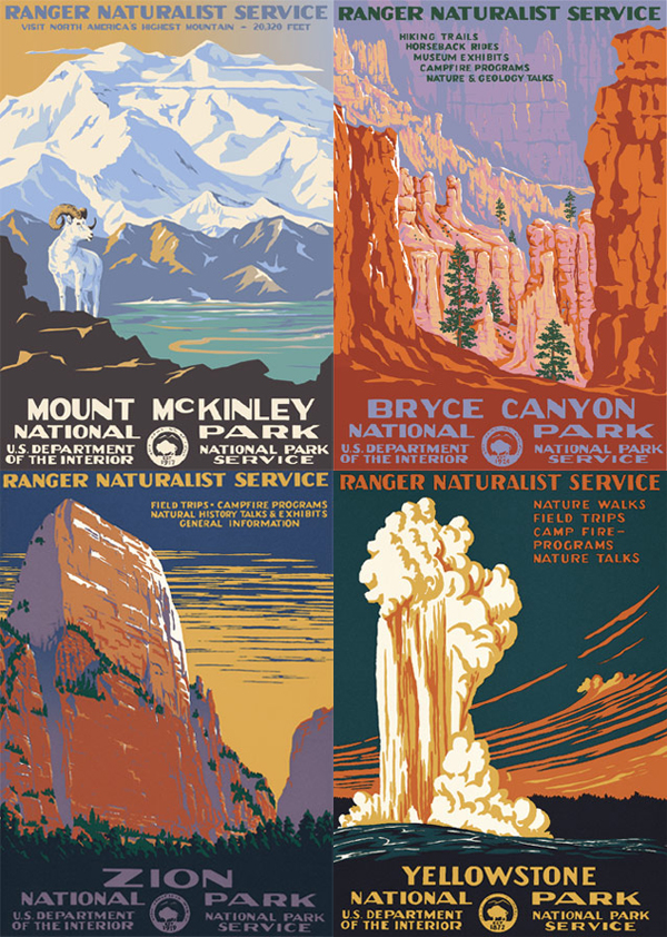Ranger Doug - National Park Posters