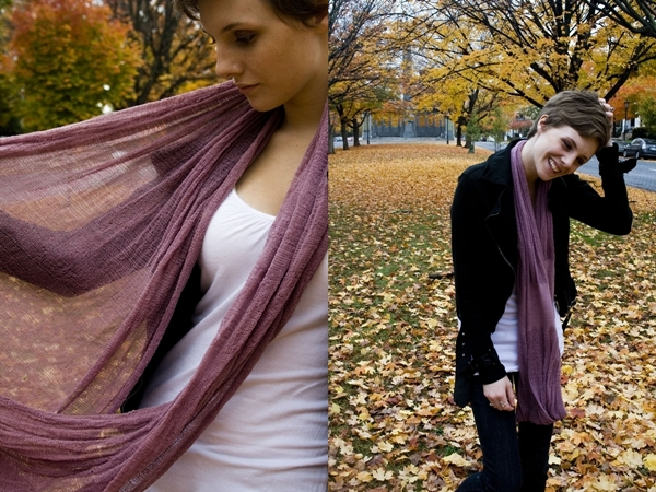 Urban Revisions - Shredded Circle Scarf