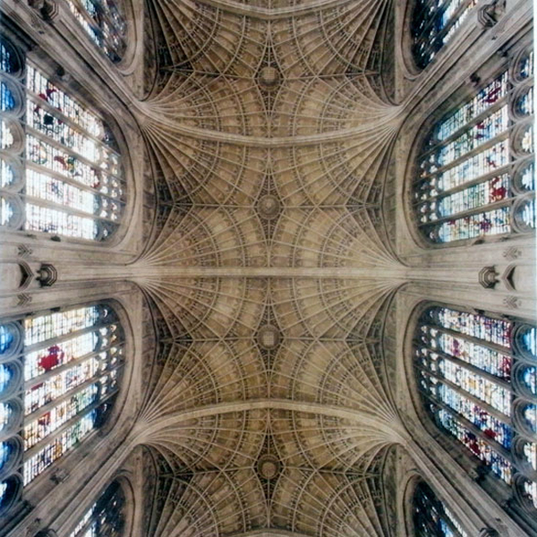 David Stephenson - Heavenly Vaults - Choir, King's College Chapel