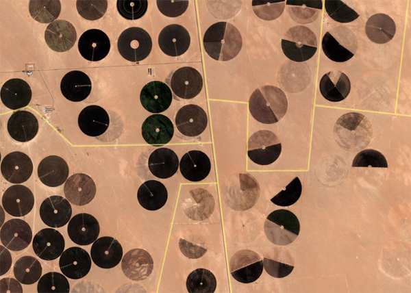 Google Earth + Saudi Arabia on Rudimentary Records