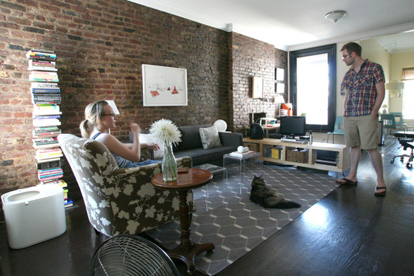 Kate Singleton of Art Hound - Apartment Therapy house tour