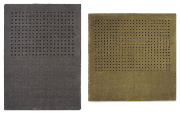 Pablo Gironés for Gandia Blasco - Trokk Gold and Grey Rug