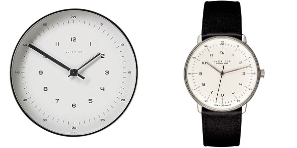 Max Bill for Junghans- Modern Clock and Watch