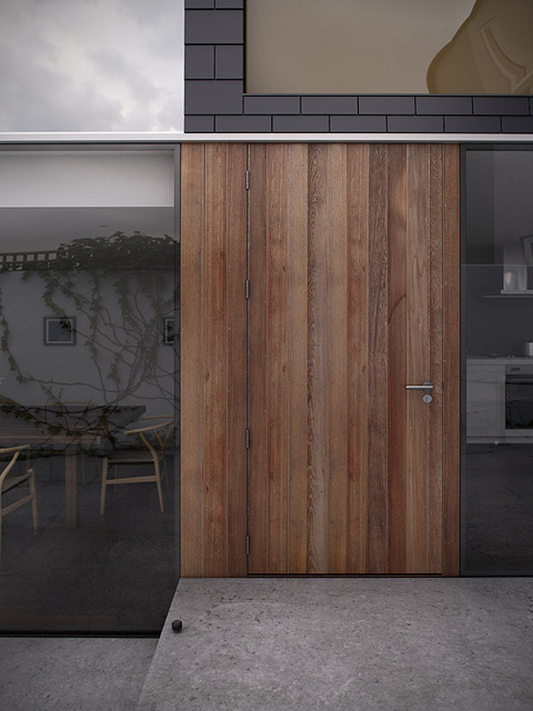 Daniel James Hatton - Dublin House Extension rendering