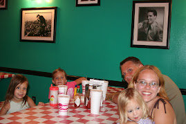 Our Family at the Rock N Roll Cafe