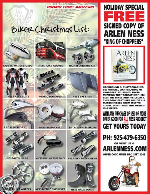 ARLEN NESS Motorcycle