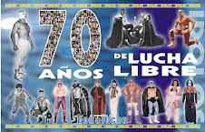 IDOLOS  70 AÑOS DE LA LUCHA LIBRE MEXICO