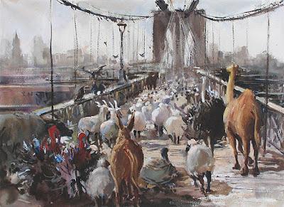 Ng Woon Lam New York Contemporary Realist