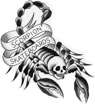 Scorpion skateboards