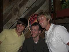 Daniel, Caleb, and Josh