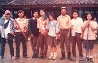 PELATIH PRAMUKA GUGUSDEPAN RADEN FATAH TAHUN 1995-1996