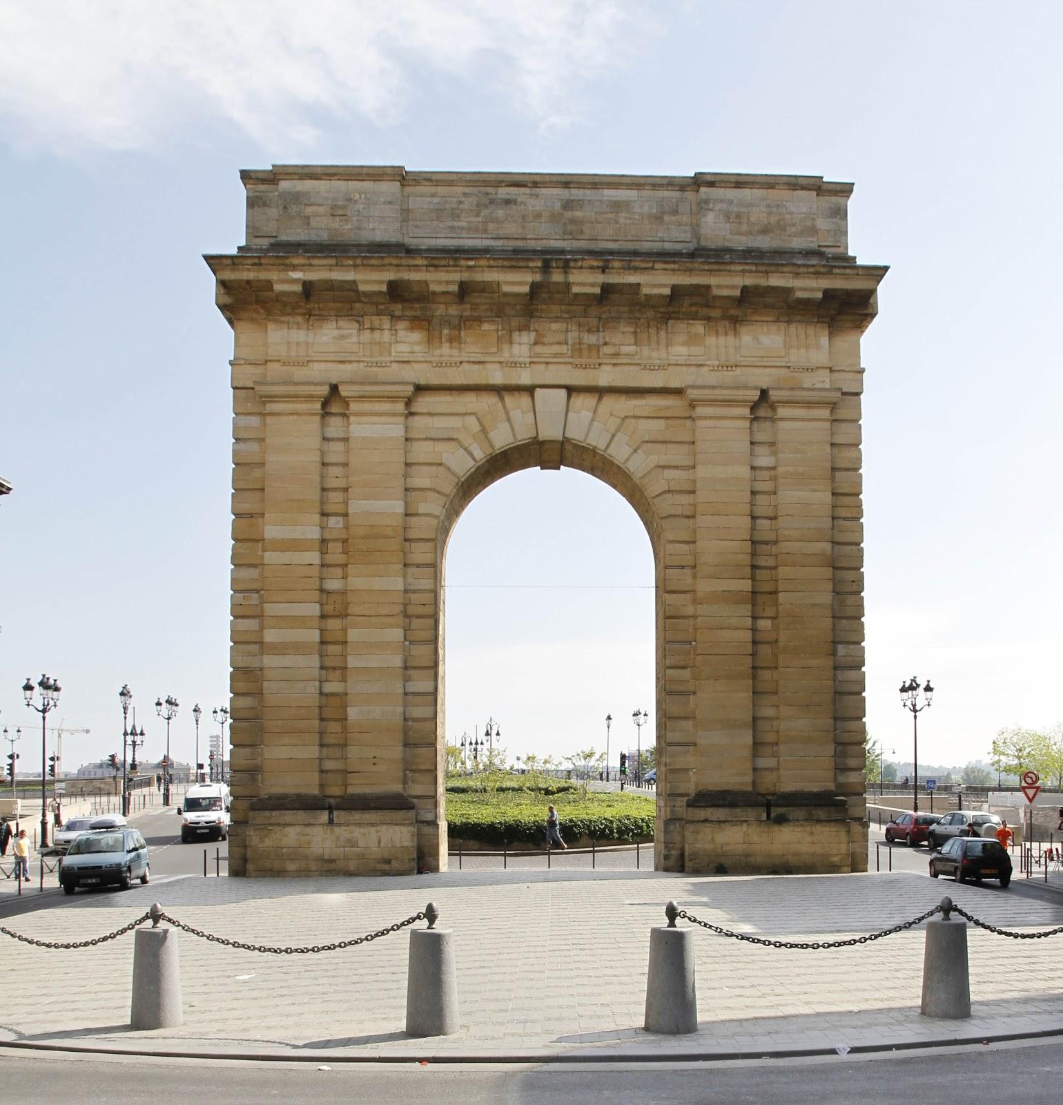 Bordeaux et ses environs promenade depuis la porte de for Porte quinze bordeaux