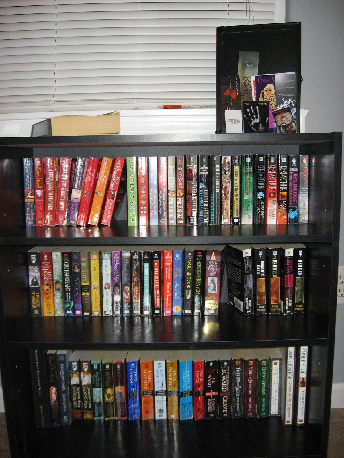 Candace's Book Blog: Bookshelves Tour!