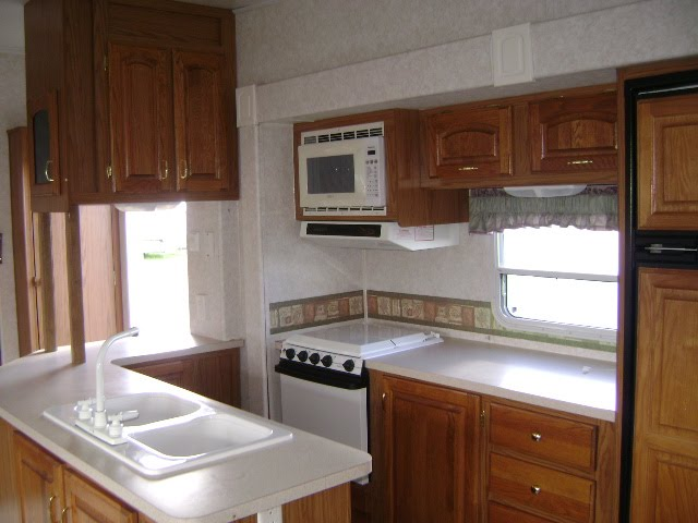 Remate de travel trailers casas rodantes mobile cocina for Cocina con microondas