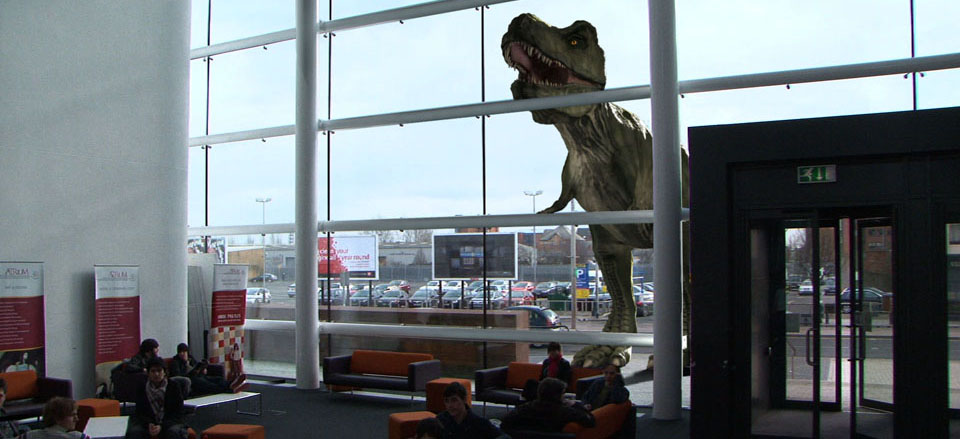 T-REX in the Atrium