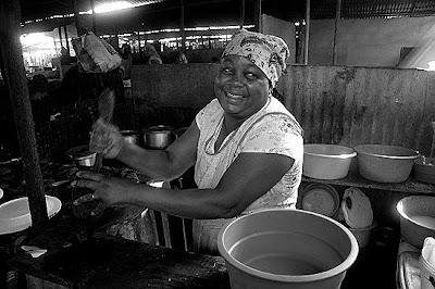 Mercado Mandela, Maputo, Moçambique, Julho de 2009