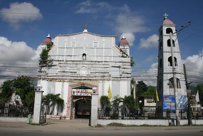 The Church Of Naga Cebu And Its Altar Below The Parish Has St Francis Of Assisi As Its Titular