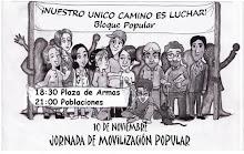 10 de NOVIEMBRE, PROTESTA POPULAR