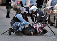 protester arrest