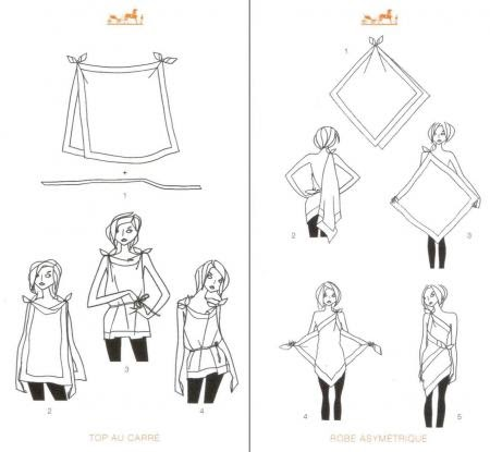 la scarfie how to tie a scarf body. Black Bedroom Furniture Sets. Home Design Ideas