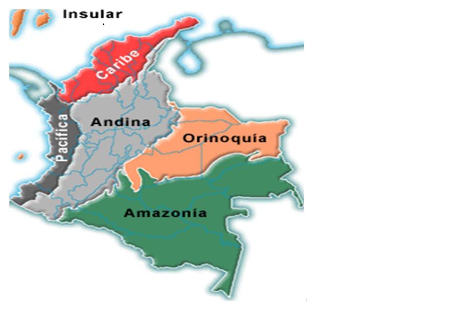 imagen mapa colombia: