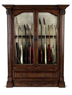 M sica y otras ondas vitrina armario closet para for Mueble guitarras