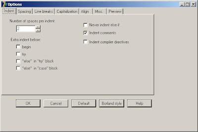 Delforexp delphi formatter