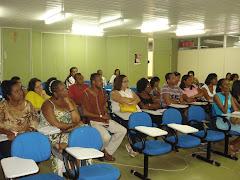 AULA PRESENCIAL DO CURSO DE FORMAÇÃO EM HISTÓRIA E CULTURA AFRO-BRASILEIRA - CEAO