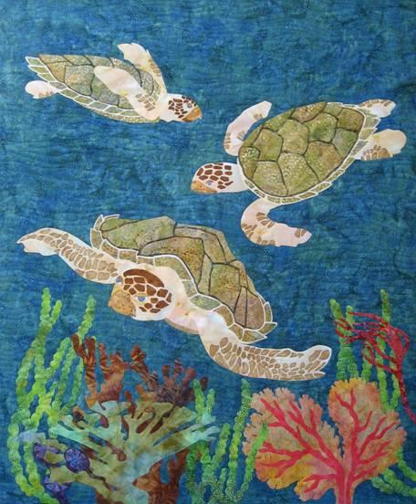 Quilt Inspiration Aquarium Quilts And Seascapes