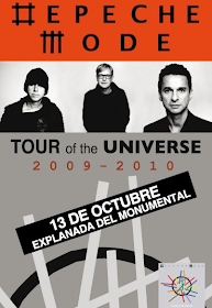13 octubre Depeche Mode en Lima