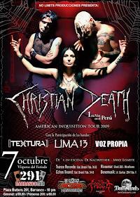 Christian Death 7 de Octubre