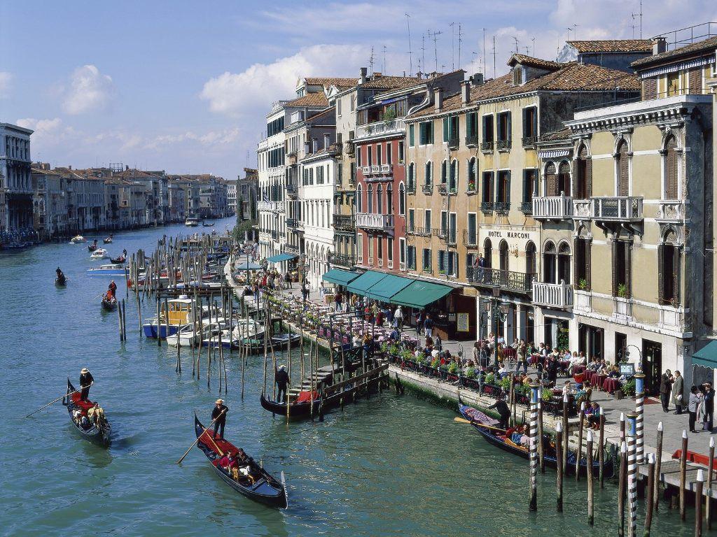 Dining Alfresco Venice Italy HD Wallpaper iHD Wallpapers - dining alfresco venice italy wallpapers