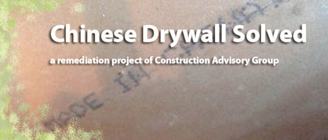 Chinese Drywall Solved
