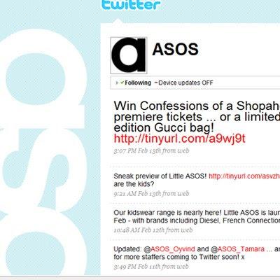 Asos Fashion Blog on Chris Bishop S Online Marketing Blog  February 2009