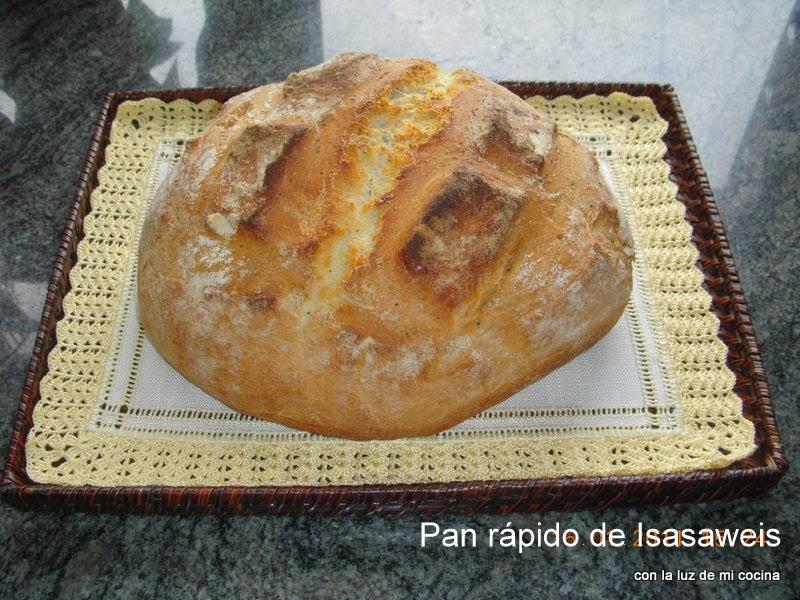 Con la luz de mi cocina pan para principiantes de isasaweis for Cocina de isasaweis
