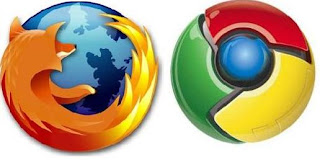google chrome logo firefox